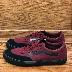 Vans Gilbert Crockett Cabernet Black Shoes* NWT